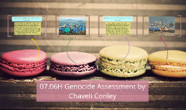 07.06H Genocide Assessment by Chaveli Conley