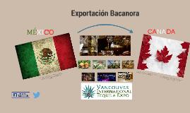Exportación Bacanaora