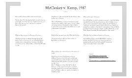McCleskey v. Kemp Research