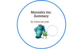 Monsters Inc. Summary
