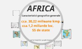 Africa-unitatea de învațare -în lucru!
