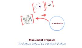 The Duplessis Orphans/ Les Orphelins de Duplessis Monument Proposal