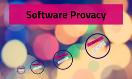 Software Provacy