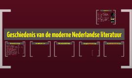 moderne nederlandse literatuur in 5 frames