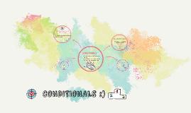 CONDITIONALS :)
