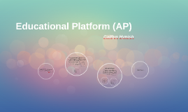Educational Platform (AP)