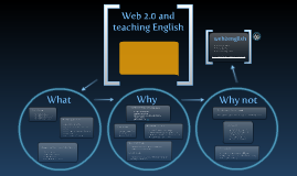 Copy of Web2.0 and teaching English