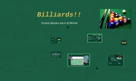 Billiards!!