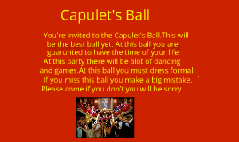 You Re Invited To The Capulet S Ball By Alexzandria And Karration