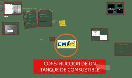 CONSTRUCCION DE UN TANQUE DE COMBUSTIBLE