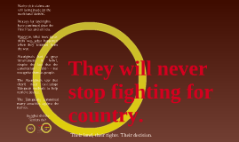Fighting for Country