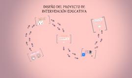 Copy of PROPUESTA DE INTERVENCIÓN EDUCATIVA