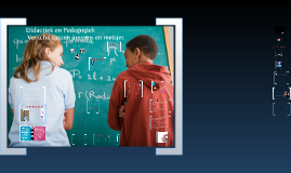 Didactiek en Pedagogiek / Sportkunde Coach