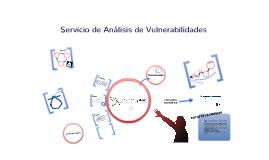 SERVICIO DE ANÁLISIS DE VULNERABILIDADES