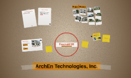 ArchEn Technologies, Inc.
