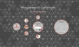 Manganese (II) Carbonate