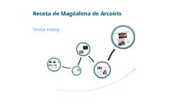 Receta de Magdalena de Arcoiris
