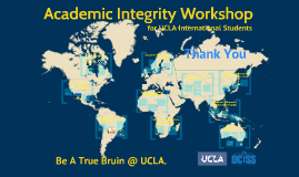 Academic Integrity Workshop 2016