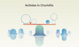 Activism In Charlotte