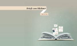 Briefe von Büchner