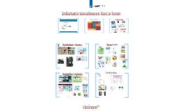 Infomatie visualiseren kun je leren