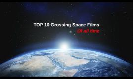 top ten grossing space films