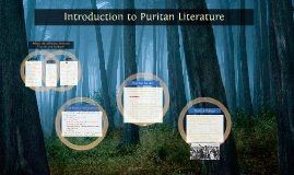 Introduction to Puritan Literature