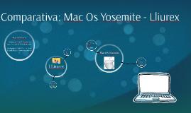 Comparativa: Mac OS Yosemite - Lliurex