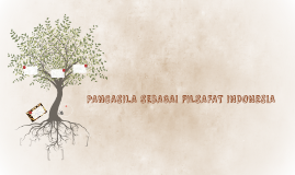 Pancasila Sebagai Filsafat Indonesia