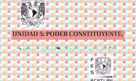 Copy of Copy of UNIDAD 5. Poder Constituyente
