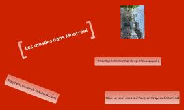 Les Musées Dans Montréal