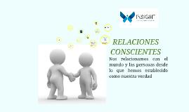 RELACIONES CONSCIENTES