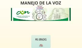Manejo De La Voz