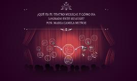 ¿Qué es el teatro musical y cómo ha logrado su auge?