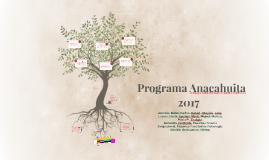 Programa Anacahuita