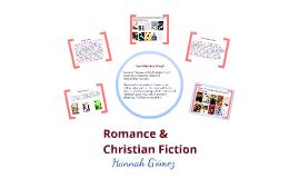Genre presentation: Romance and Christian fiction