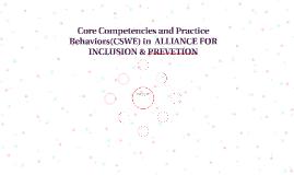 Core Competency and Practice Behavior (CSWE)