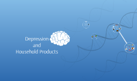 Depression and Household Chemicals