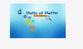 Vertical Alignment Presentation--States of Matter