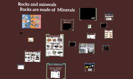Rocks and minerals - 4th grade