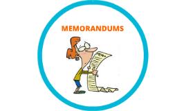 JIO_Memorandums