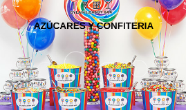 AZÚCARES Y CONFITERIA