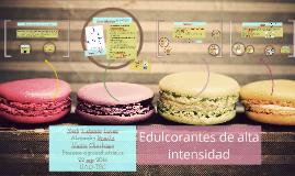 Copy of Edulcorantes de alta intensidad
