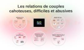 Copy of Les relations de couples cahoteuses, difficiles et abusives