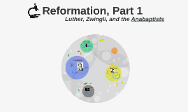 RELI 300: Reformation, Part 1 - Luther, Zwingli, and the Ana