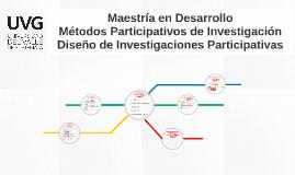 Diseño de Investigaciones Participativas