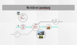 Ma visite en Luxembourg