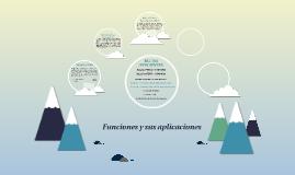 Copy of Funciones y sus aplicaciones
