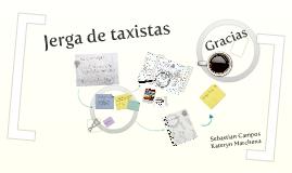 Copy of JERGAS DE LOS TAXISTAS