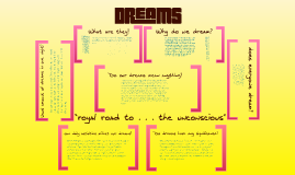 Copy of Dreaming